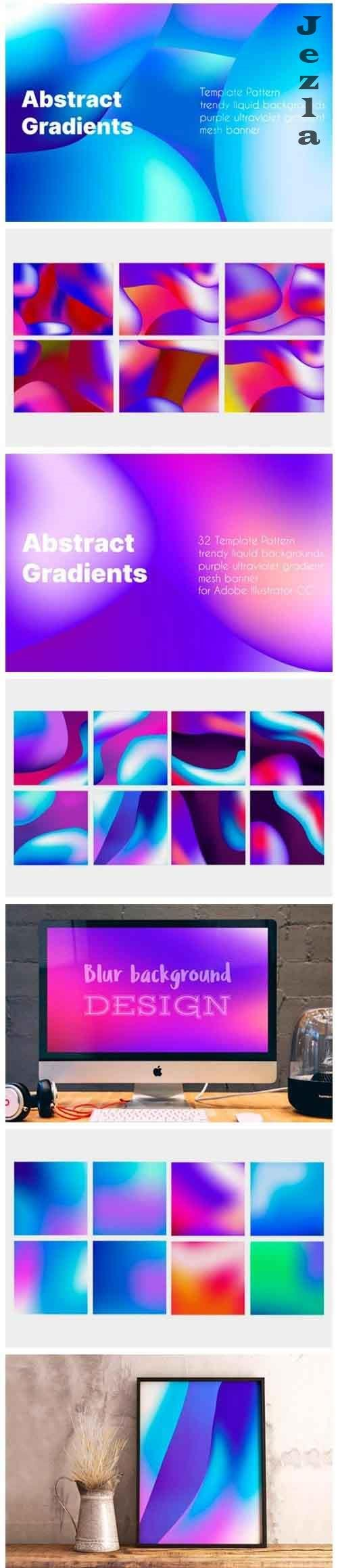 Backgrounds gradient template - 5737689