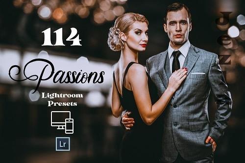 CreativeMarket - 114 Passions Adobe Lightroom Preset 5810348