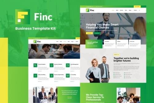 ThemeForest - Finc v1.0.0 - Business & Financial Elementor Template Kit - 30368883