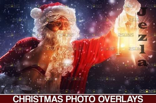 Christmas overlay & Sparkler overlay, Photoshop overlay - 1132934