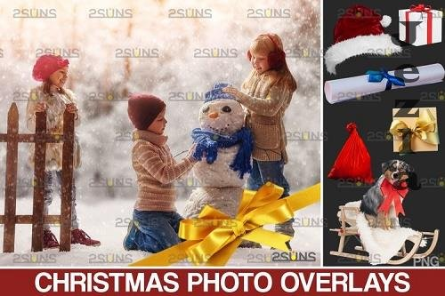 Christmas overlay & Snow overlay, PHSP overlay - 1132921