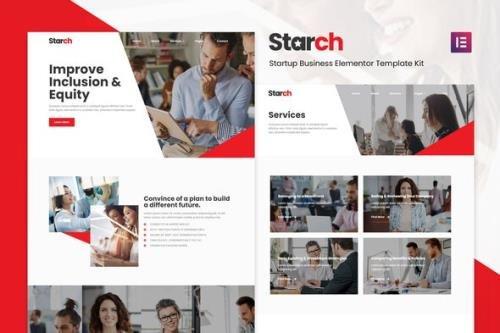 ThemeForest - Starch v1.0.0 - Business Elementor Template Kit (Update: 11 February 21) - 29564049