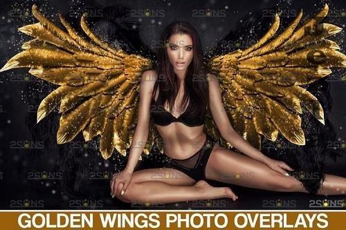 Golden Angel Wing overlay & PHSP overlay - 1132971