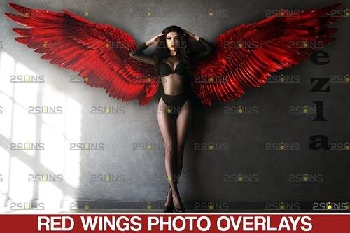 Red Angel Wing overlay & PHSP overlay - 1132970