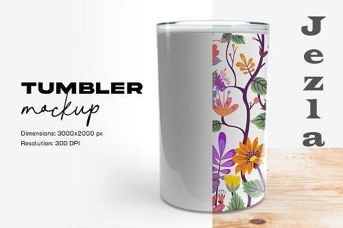 CreativeMarket - Tumbler Mockup 5809975