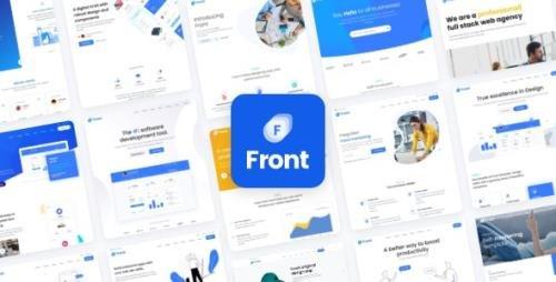 ThemeForest - Front v1.1.5 - Multipurpose Business WordPress Theme - 25428980