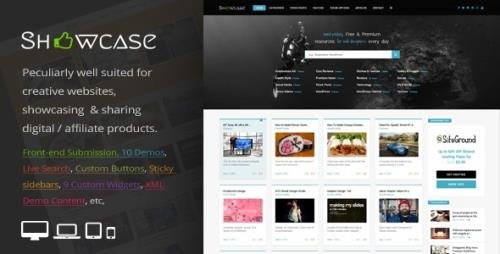 ThemeForest - Showcase v3.3 - Responsive WordPress Grid / Masonry Blog Theme - 14842187