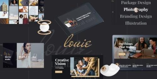 ThemeForest - Louie v1.1.0 - Modern Portfolio Theme for Agencies - 23067601