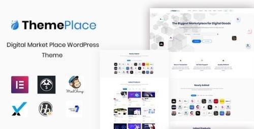 ThemeForest - ThemePlace v1.1.4 - Marketplace WordPress Theme - 24034997