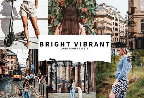 CreativeMarket - 10 Bright Vibrant Lightroom Presets 5857387