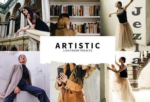 CreativeMarket - 10 Artistic Lightroom Presets 5857400