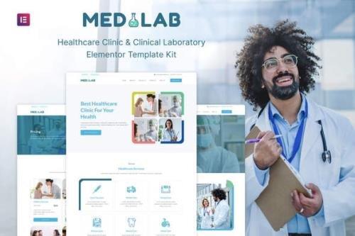 ThemeForest - Medilab v1.0.0 - Healthcare & Clinical Laboratory Elementor Template Kit - 30443970