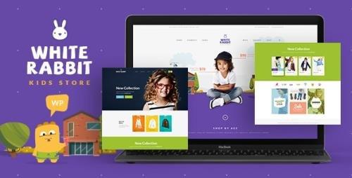 ThemeForest - White Rabbit v1.3.6 - Kids Toys Children Clothing Store - 16846054