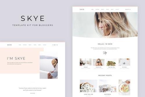 ThemeForest - Skye v3.0.16 - Modern Blog Elementor Template Kit - 30441447