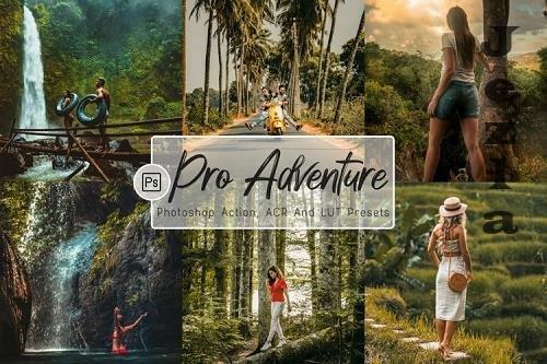 07 Pro Adventure Photoshop Actions, ACR, LUT Presets - 1215665