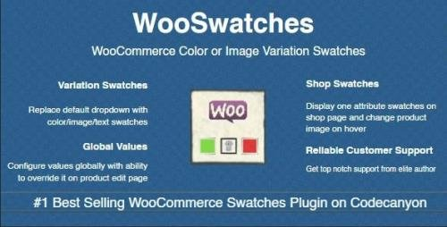 CodeCanyon - WooSwatches v3.1.2 - WooCommerce Color or Image Variation Swatches - 7444039