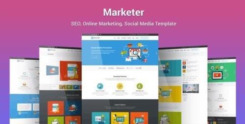 ThemeForest - Marketer v1.2.9 - SEO, Online Marketing, Social Media WordPress Theme - 19570286