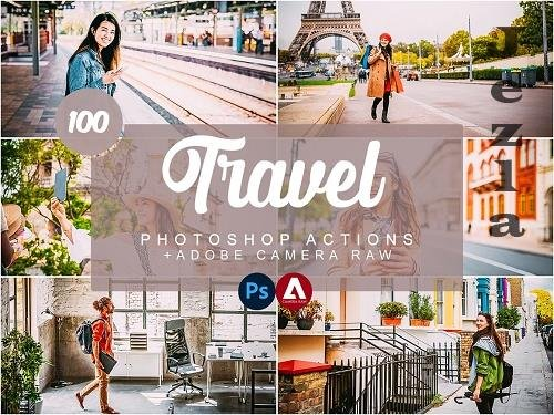 CreativeMarket - Travel Photoshop Actions 5733789