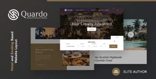 ThemeForest - Quardo v1.0 - Deluxe Premium Hotels HTML Template - 30371598