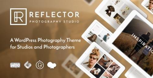 ThemeForest - Reflector v1.2.2 - Photography WordPress Theme - 23925431