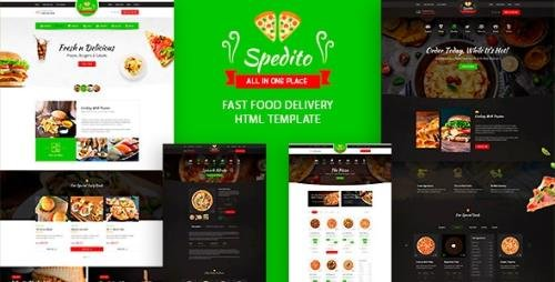 ThemeForest - Spedito v1.0 - Ordering Fast Food HTML Template - 30300499