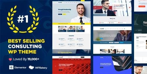 ThemeForest - Consulting v5.2.4 - Business, Finance WordPress Theme - 14740561 - NULLED