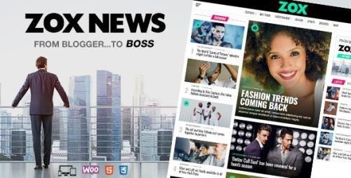 ThemeForest - Zox News v3.7.0 - Professional WordPress News & Magazine Theme - 20381541