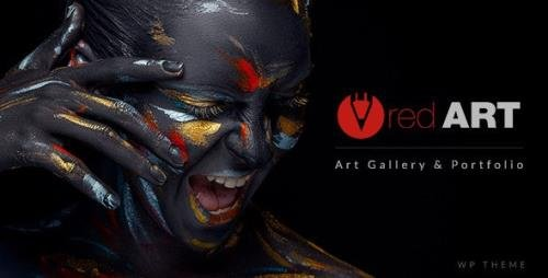 ThemeForest - Red Art v2.3 - Artist Portfolio - 16153193