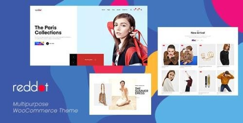 ThemeForest - Reddot v1.1 - Minimal & Modern WooCommerce WordPress Theme - 23449751