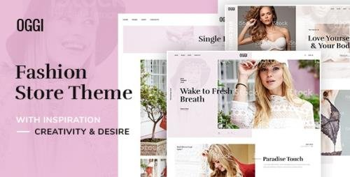 ThemeForest - OGGI v1.0.0 - Fashion Store WooCommerce Theme - 25078826