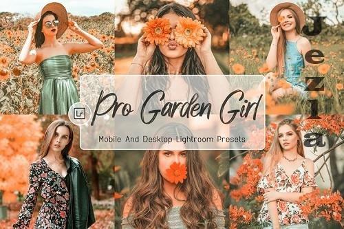 10 Pro Garden Girl Decktop And Mobile LRM Presets - 1217627