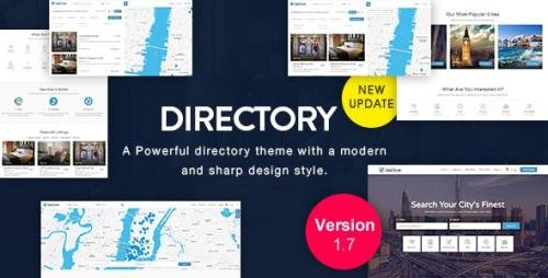 ThemeForest - Directory v3.5.0 / DirectoryBOX v1.7 - Multi-purpose WordPress Theme - 10480929 - NULLED