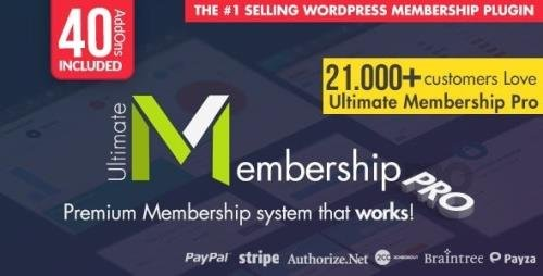 CodeCanyon - Ultimate Membership Pro v9.5 - WordPress Membership Plugin - 12159253 - NULLED