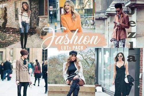 CreativeMarket - Fashion LUTs | Fashion Video filters 5749768
