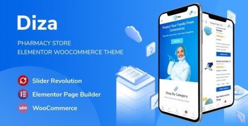 ThemeForest - Diza v1.1.3 - Pharmacy Store Elementor WooCommerce Theme - 27471239