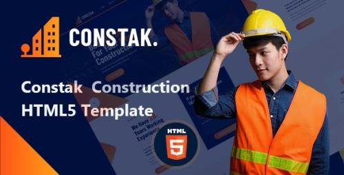 ThemeForest - Constak v1.0 - Construction HTML5 Template - 30472364