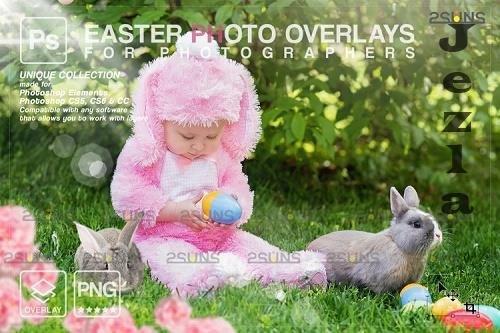 Photoshop overlay Easter bunny overlay V7  - 1223560