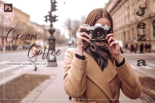 7 Cream Coffee PS Action, ACR, LUT - 5859799