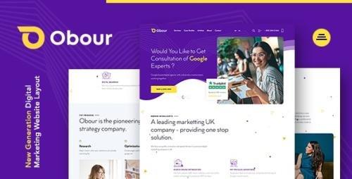 ThemeForest - Obour v1.0.0 - Digital Marketing Agency WordPress Theme (Update: 21 February 21) - 27856977