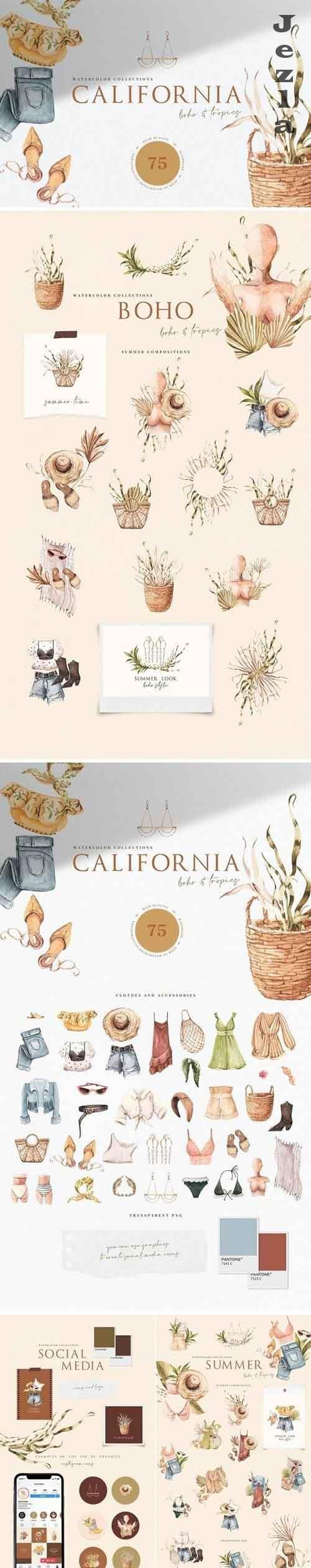 California. Boho Outfit & More - 5556339