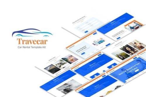 ThemeForest - Travecar v1.0.0 - Car Rental Elementor Template Kit - 30562600