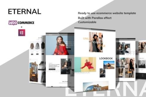 ThemeForest - Eternal v1.0.0 - Ecommerce Elementor Template Kit - 30558429