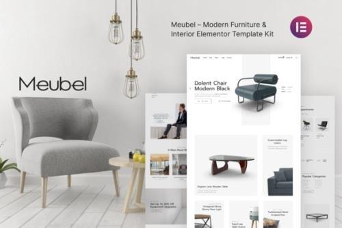 ThemeForest - Meubel v1.0.0 - Modern Furniture WooCommerce Elementor Template Kit - 30597862