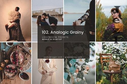 CreativeMarket - 102. Analogic Grainy Presets 5158850