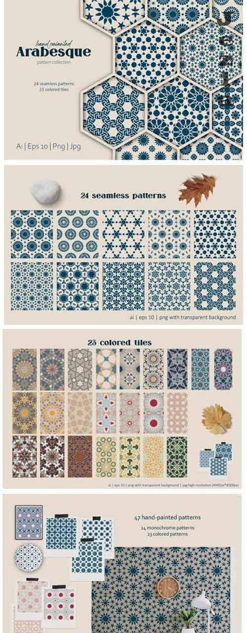 Arabesque: Islamic art patterns - 5790171
