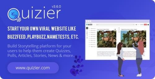 CodeCanyon - Quizier v3.6.0 - Multipurpose Viral Application & Capture Leads - 27471141 - NULLED