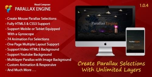 CodeCanyon - Parallax Engine v1.0.4 - Addon For Visual Composer - 13675566