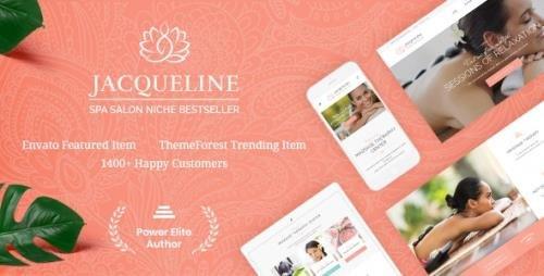 ThemeForest - Jacqueline v1.6.4 - Spa & Massage Salon Beauty WordPress Theme + Elementor - 17101639