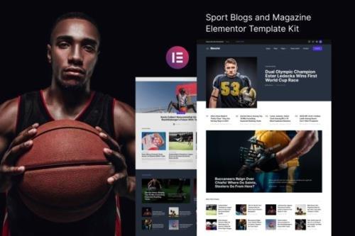 ThemeForest - Blanche v1.0.0 - Sports Blog & Magazine Elementor Template Kit - 30781424