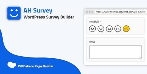 CodeCanyon - AH Survey v1.5 - Survey Builder With Multiple Questions Types - 27646691